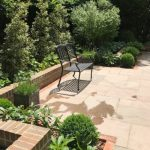 Paving with Seating Area