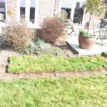 Case Study Perennial Border - Turf Removal Shaping The New Border